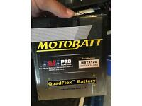 Motorcycle battery MBTX12U Motobatt