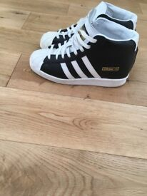 Adidas Superstar Wedge Trainers size 4.5