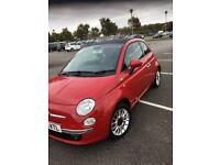 Fiat 500cc , 60 plate, convertible