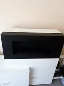Bio fuel fire - fire section only - it is originally part of a tv unit