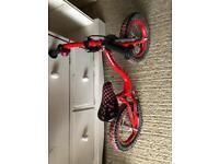 Balance bike, with brake