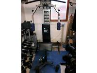 Kettler Lat pull down butterfky and bench