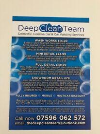 Deep clean team