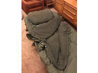 Nash SS4 wideboy bedchair sleep system