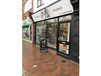 ROOM TO RENT IN BUSY TATTOO STUDIO