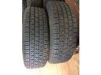 Set of wheels and tyres - Saab 900