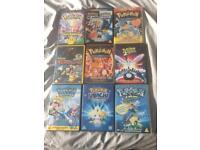 Selection of 9 Pokémon Films on DVD
