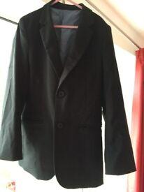 Boys Black Suit Jacket aged 10 years