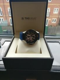 Tag heuer carrera calibre heuer 01 (blue touch edition)