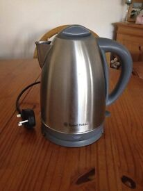 Russell Hobbs silver kettle - great condition