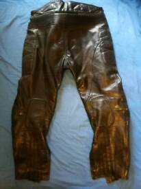 Frank Thomas 2 piece Motorcycle leathers for sale