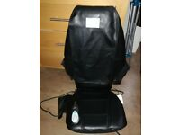 Homedics back massage chair multi function . Barely used COLLECTION LARGS OPEN TO OFFERS
