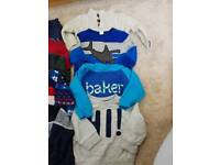 5 jumpers ted baker next gap 12-18months baby boys