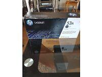 HP Laserjet Ink black 53A, for M2727 mfp, P2015. Printers