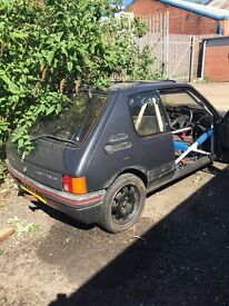 Peugeot 205 Gti turbo spares/repair