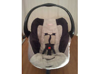BABY CAR SEAT,SAFE - N- SOUND,SIDE HEAD PROTECTION,UNIVERSAL,SUITABLE FROM NEW BORN TO 15 MONTHS OLD