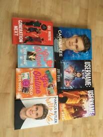 Set of Youtuber books