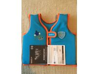 Kids speedo sea squad float vest
