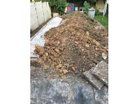 Soil, at least 3 large grab bags worth needs a new home