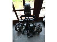 Powakaddy used electric golf trolley