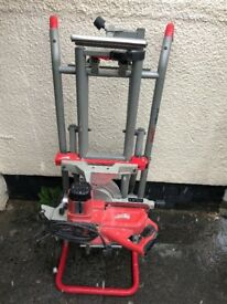 Milwaukee mitre cutting saw and stand