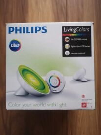 Philips LivingColors Bloom LED Lamp NEW BOXED