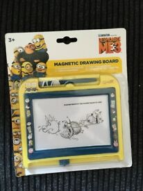 Brand New Sealed Despicable me Minions Drawing Board Toy £3 Each