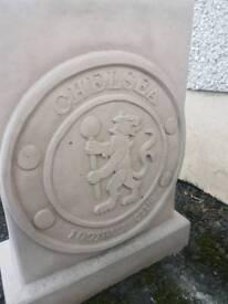 Concrete Chelsea Football Garden Bench Seat