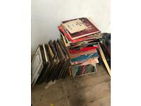 Large selection of easy listening LP records
