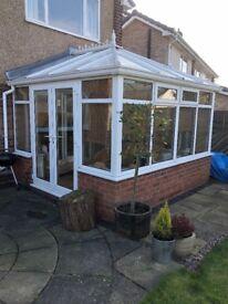 PVC conservatory