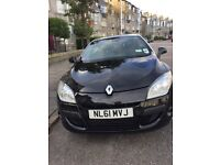 Diamond black Renault Megane Cabriolet One lady owner Great condition Very low mileage