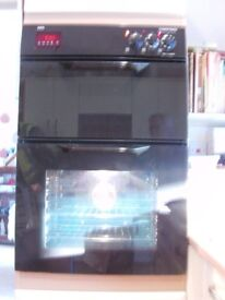 Built in Electric AEG Competence 30480 Double Oven,Good working order. Change due to revised Kitchen
