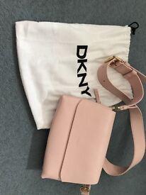 DKNY pink handbag