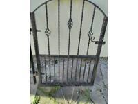 Hand made garden gate