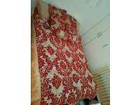 Cover bed with curtain