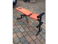 Weight lifting / sit up bench