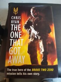 Chris Ryan Book The One that got away