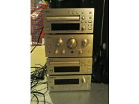 TEAC Stereo system with speakers