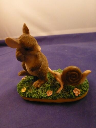 "Charming Tails Figurine ""Taggin"