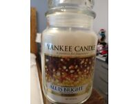 Yankee Candle Large Jar New All is Bright