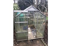 4x6 green house, collection only