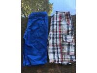 Shorts age 7-8 x 2 pairs