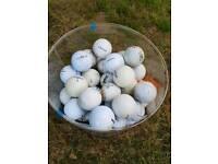 Bag 42 Golf Balls £2!
