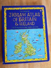 Usbourne jigsaw atlas book