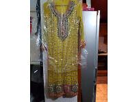 Asian Fancy mehndi bridel Dresses for sell £200 on offer