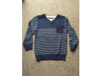 Boys 5-6 years baby striped jumper