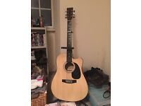 Acoustic guitar** 6 string chantry