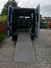 Wheelchair vehicle