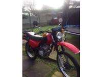 Jailing 125cc trail bike for sale or swap