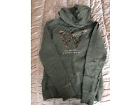 Olive green H&M hoodie